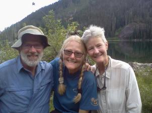 From left to right: Ken Kisch, Jo Ann, Alison Kilroy