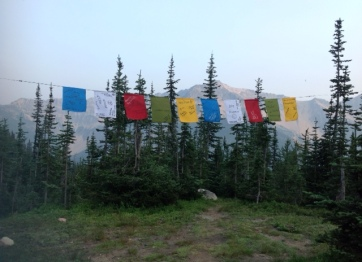 Wednesday prayer flags at camp IMG_1600