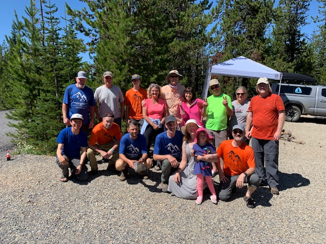 Trips 2 & 3 with a few trail angels 08.13.19